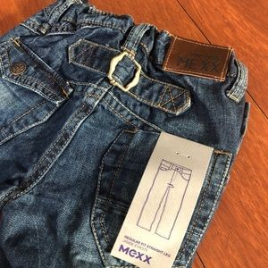MEXX 24-30 month straight legged detailed jeans